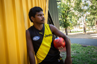 Maurice Rioli jnr is now a Tiger.