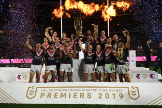 Trent Robinson wants the Roosters of 2020 to create their own history, rather than a focus on extending last year's success.
