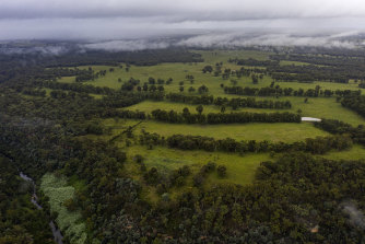 The government paid $258 million for land at North Wilton.