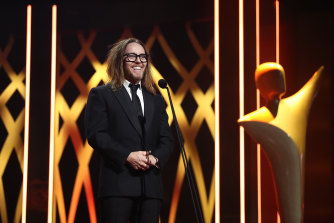 Tim Minchin won best comedy series and best comedy performer.