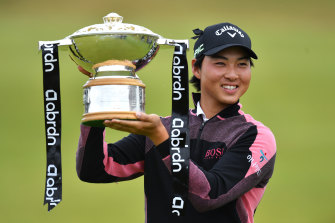 Min Woo Lee won the Scottish Open and a place in the British Open.
