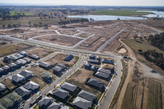 A collapse in migrant numbers and more people able to work from home may slow the growth of suburbs such as Oran Park and others in Sydney's west.