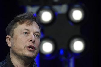 Billionaire Elon Musk.