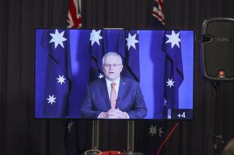 Prime Minister Scott Morrison said China should be ashamed of the social media post on Monday.