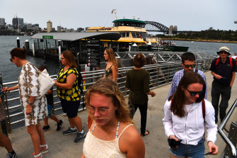 Residents fear the Balmain East wharf will face a major increase in commuters due to proposed changes to the ferry network.