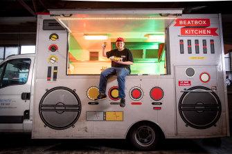 Food truck pioneer Raph Rashid.