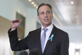 Federal Health Minister Greg Hunt said the vaccine rollout in aged care was going well, despite the provider contracted to deliver the vaccine in NSW and Queensland admitting it was behind schedule.