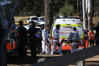 Hundreds of emergency service workers, volunteers and family spent three days looking for AJ.