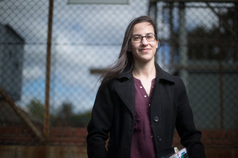 Network engineer Stephanie Virgato has undertaken study in machine learning during the pandemic to boost her digital skills.