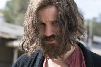 Matt Smith as Charles Manson in Mary Harron's film Charlie Says.