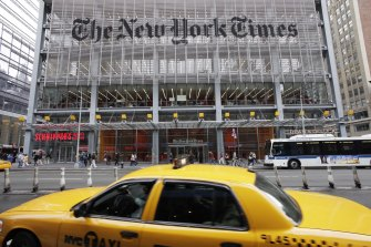 The New York Times is one of three US newspapers whose journalists will be affected.