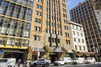 The former AWA Building, 45-47 York Street, Sydney