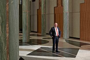 Barnaby Joyce says he wants action from major social media platforms.