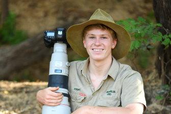 Robert Irwin, 17, has won a major international photography award.