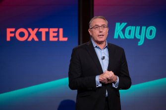Foxtel boss Patrick Delany is expected to unveil a third streaming service this week.