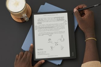 The Kobo Elipsa is a digital bookshelf and notepad combined.