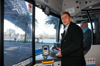 NSW Transport Minister Andrew Constance is privatising Sydney's last remaining bus routes in state-owned hands.
