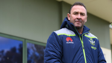 Ricky Stuart's contract extension was announced on Monday.