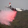 'It's just a ball of flames': Three die in aircraft crash while fighting fires