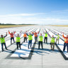 Today is the day Brisbane Airport opens its new parallel runway