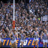 Collingwood fan banned after racial slur during grand final