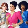 Ginnifer Goodwin, Lucy Liu and Kirby Howell-Baptiste in <i>Why Women Kill</i>.