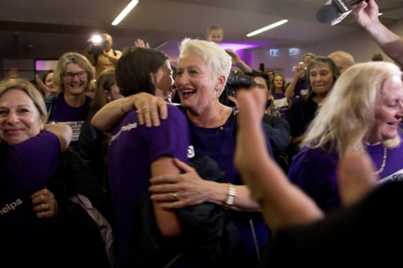 Phelps set to win even with best postal vote result for  Libs