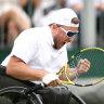 Aussie Alcott wins inaugural Wimbledon quad singles crown