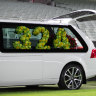 'Fitting farewell': Private family funeral held at the 'G for Dean Jones