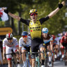 Ewan edged out in Tour de France stage 10 sprint
