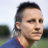 The no-frills Demon with a magnificent mullet who tears up the AFLW