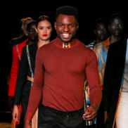Brisbane based fashion designer Salomon Lukonga gives 30 per cent of profits from his brandMojalivin to fund medical supplied in the Congo.