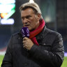 Hoddle remains in a 'serious condition' but responding to treatment