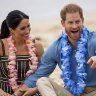 How Harry and Meghan's Australian tour proved the turning point in royal drama