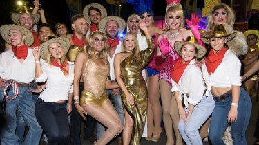 Kylie Minogue reigned supreme at Mardi Gras.