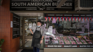 Cristian Garcia, owner of Theo's Cecinas Quality Meats in Hurlstone Park.