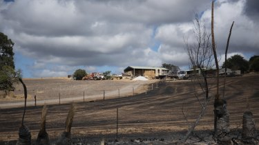 Authorities are working to determine the damage caused by the Wooroloo bushfire.