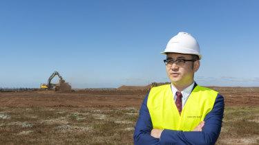 Country Garden Australia CEO Guo Tao Hu
