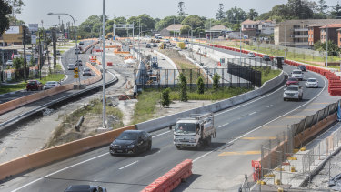 The first stage of the Westconnex project is due to open soon.