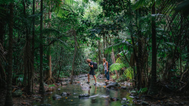A jobs-boosting investment package announced by the federal government will upgrade tourism facilities in Work Heritage Areas including the Queensland Wet Tropics in the Daintree Rainforest.