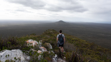 The view from the summit of Mount Barren in the Fitzgerald River National Park.