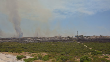 The Yanchep fire zone.