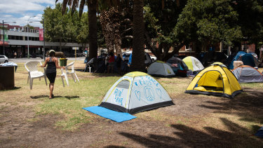 WA Premier Mark McGowan has called for tent city to end now.