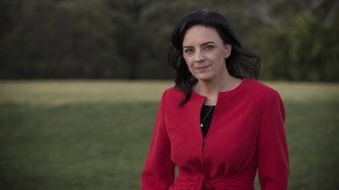 Emma Husar on Wednesday after announcing she would not recontest the seat of Lindsay.