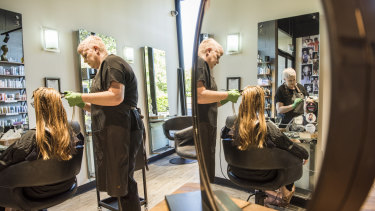 Lea-Ann Suthern, owner of Toni & Guy Newtown, has seen customer numbers fall dramatically.