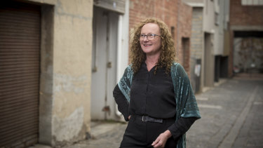 Liz Beech, founder of Here's Looking at You, Kid, in North Melbourne
