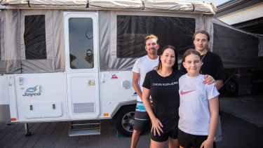 The Barnes-Carter family and are planning to purchase a second camper in the next year and a half.