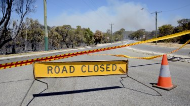 The Yanchep fire has flared up, with a new Emergency Warning issued.