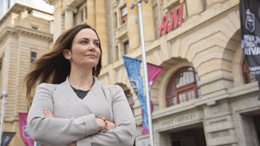 Regan Ballantine, passionate work safety advocate, has called on changes to the judicial system to make companies accountable for industrial manslaughter.