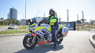 More than 100 police officers took to Perth's Causeway on Friday as part of the operation.